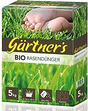 Gärtner's Bio Rasendünger 5 kg I Rasen