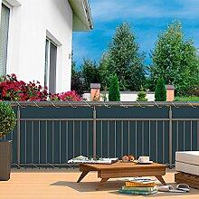 Gärtner Pötschke Balkon-Sichtschutz, anthrazi