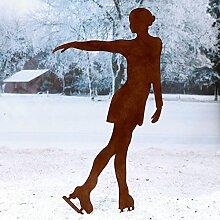 Gärtner Pötschke Beetstecker Eiskunstläuferin