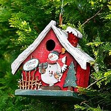 Gärtner Pötschke Deko-Vogelhaus Weihnachtsglück