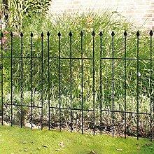 Gärtner Pötschke Gartenzaun Basic, 3er-Se