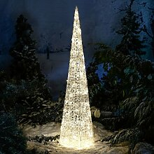 Gärtner Pötschke LED-Leucht-Pyramide Starlight, 96 LEDs