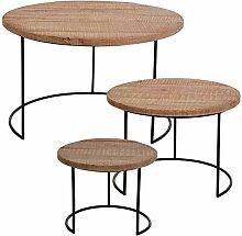 Gärtner Pötschke Lounge-Tisch New York, 3er-Set,