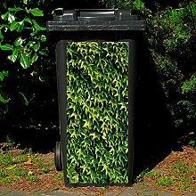 Gärtner Pötschke Mülltonnen-Aufkleber Efeu