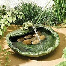 Gärtner Pötschke Solar-Brunnen Frosch