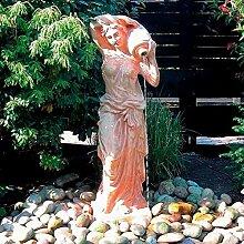 Gärtner Pötschke Terracotta Garten-Skulptur & Wasserspiel Athena