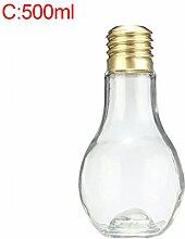 gaeruite Klare Lampenglas Blühbirne,Trinkbecher