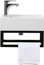 Gäste WC Waschbecken Soho Industrial Design aus