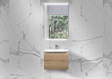 Gästebad Intarbad Slide 60x35 cm WT, Evermite