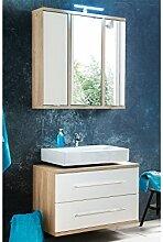 Gästebad Waschplatz Badset Handwaschplatz Badmöbel Gäste-WC Bad Set Arta I