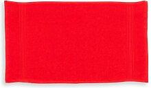 Gästehandtuch Senaida 17 Stories Farbe: Rot