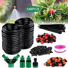 Gafild 149 PCS Bewässerungssystem Kit, 30m Garten