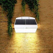 Gaga Lamp Design Solar LED Außenleuchte MAXI mit Sensor - 2 Solar Pannels - Solar Lampe