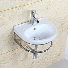 Küche waschbecken keramik  Waschbecken Mit Handtuchhalter günstig online kaufen | LIONSHOME