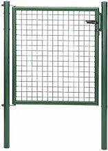 GAH-ALBERTS Gartentor 100x175cm Wellengitter