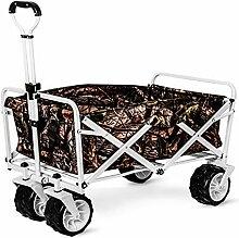 GAIBO Gartenwagen, zusammenklappbar, mit Rädern,