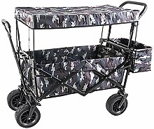 GAIBO Gartenwagen, zusammenklappbar, mit Rädern