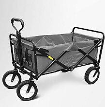 GAIBO Gartenwagen, zusammenklappbar, mit Rollen,