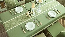 GAIHU American Style Pastoral Cloth Tablecloth