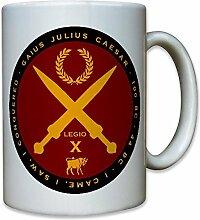 Gaius Julius Caesar Cäsar VENI VIDI VICI Rom Römer Latein Zitat - Tasse Kaffee Becher #11087