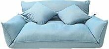GAIXIA Doppelklappsofa, Bequeme Couch, kostenlose