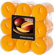 Gala Kerzen 030 631 632 Duft-Teelicht Mango, Mango