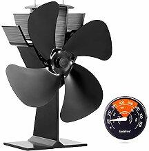 GALAFIRE [2 Jahre Garantie] Holzofen Ventilator 4