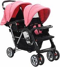 Galapara Baby Geschwisterwagen Zwillingswagen