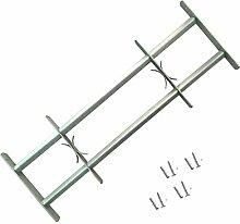 Galapara Fenstergitter | Einstellbares Stahlgitter