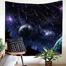 Galaxie Sternenhimmel Planet Wandteppich