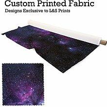 Galaxy 10Design Digital Print Strick 28Gauge Leiter Widerstehen Stoff 149,9cm Breite hergestellt in Yorkshire