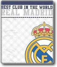 Gale Hayman Real Madrid Hülle, Polyester, weiß,