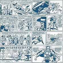 Galerie Offiziell Supermann Comic-strip Muster
