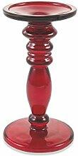 Galileo Casa 2192206 Kerzenhalter, Glas, Ro