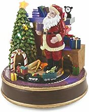 Galileo Casa 2424127 Weihnachtsdorf mit Musik und