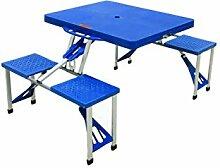 Galileo Casa Tischgruppe 5 TLG. Set blau
