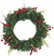 Galileo Casa Weihnachten Girlande, PVC, grün,