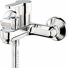 Galindo 2141000-Wasserhahn Badewanne, silber