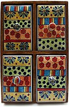 Gall & Zick - Keramik-Kommode mit 4 Schüben Höhe