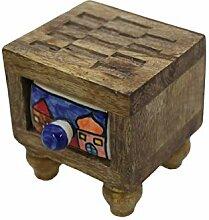 Gall&Zick Kommode Mini Schrank Holz Schublade