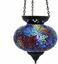 Gall&Zick Mosaik Lampe Hängelampe Windlicht
