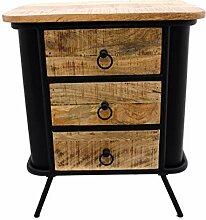 Gall&Zick Nachttisch,Nachtschrank aus Holz,