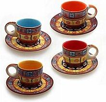 Gall&Zick Set/4 Espressotasse mit Untertasse