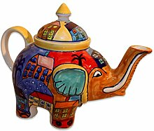 Gall&Zick Teekanne Elefant Kanne Keramik