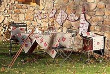 galtex Küchenteppich mit Antirutsch Linie Aosta cm. 65x 140