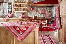 galtex Küchenteppich mit Antirutsch Linie St.