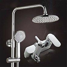 Galvanik dritte Dusche Wasserhahn eingerichtet