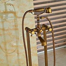 Galvanik Retro Wasserhahn Floor Mount Badezimmer