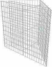 Galvanisierter Stahl Gabionen-Pflanzbehälter