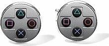 Game-Controller-Manschettenknöpfe, modisch,